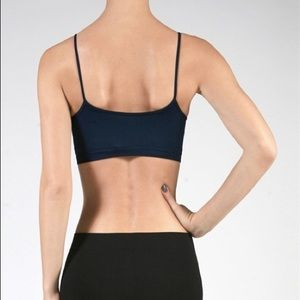 Intimates & Sleepwear - Navy Seamless Caged Cutout Bralette