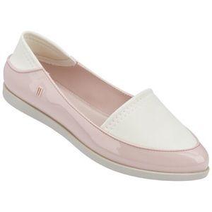 Melissa Shoes - ✨ NIB Melissa 'Space Sport' Pink & Beige Slip-ons