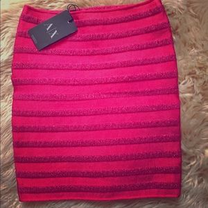 New with tags Armani Exchange stretchy skirt