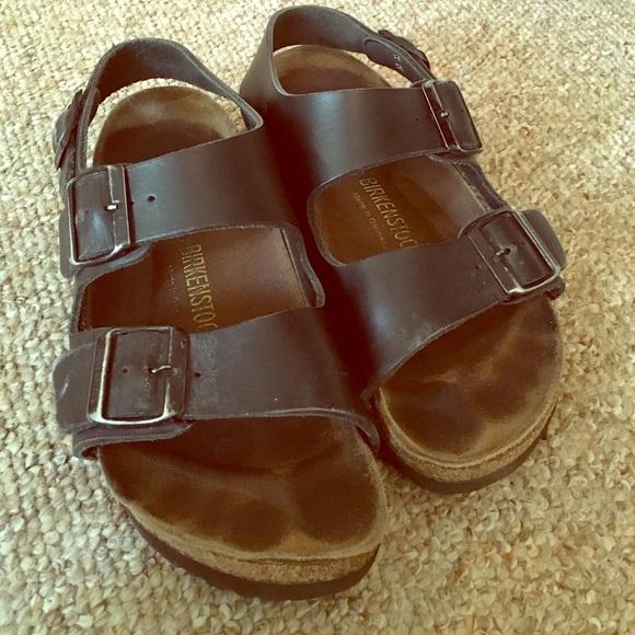 26413bd71d6 Birkenstock Shoes - Birkenstock Milano Size 38