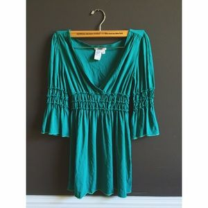 Sophie Max Tops - ✨Sophie Max✨ Green Shirt/ Dress