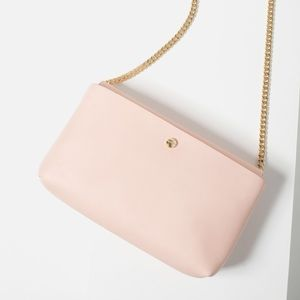 Zara cross body bag pink
