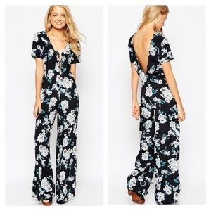 55% off Asos Pants - Floral jumpsuit from Sonia's closet's closet on Poshmark