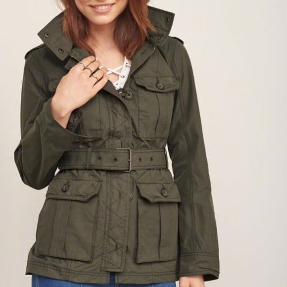 68% off Abercrombie & Fitch Jackets & Blazers - Lightweight ...
