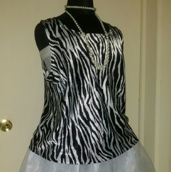 Zebra Print Blouses Sale 118