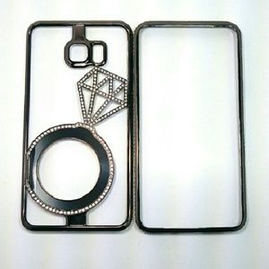 Other - Black Diamond Ring Phone Case For Samsung Note 5