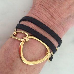 ADA Jewelry - Leather wrap bracelet