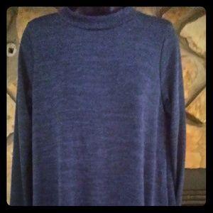 Dresses & Skirts - L. Navy Blue Sweater Dress. Long sleeve, below kne