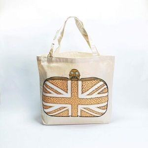 My Other Bag Elizabeth Jeweled Tote - Gold