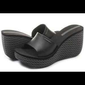 Ipanema Shoes - IPANEMA👡💄Lipstick Wedge Platform Slide Sandal 7