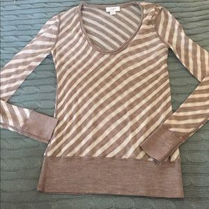 LOFT Long Sleeve striped