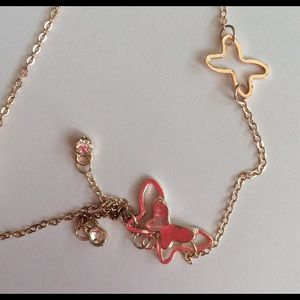 Jewelry - Copper Butterfly Ankle Bracelet
