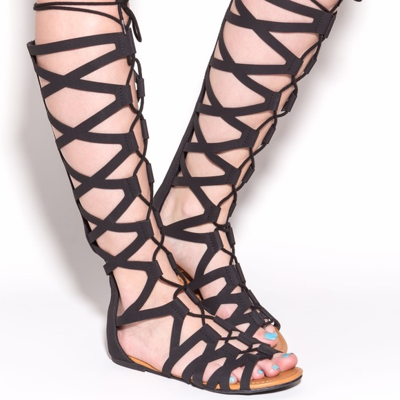 ba969873d932 GoJane Shoes - Lattice Warrior Gladiator sandals