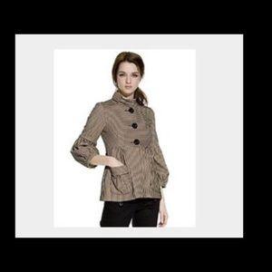 Nanette Lepore Jackets & Blazers - STUNNING NANETTE LEPORE STRIPED JACKET/BLAZER