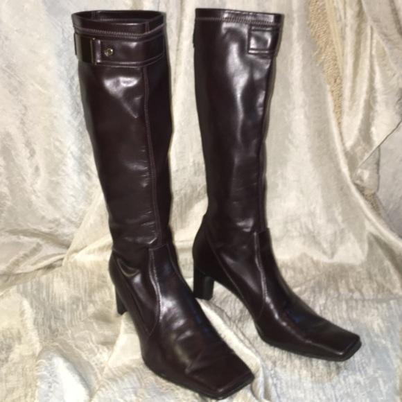Franco | Sarto Shoes | Franco Tall Brown Boots | Poshmark 8b133f