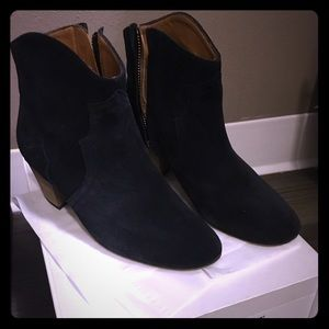 Isabel marant the Dicker suede black boots size 37