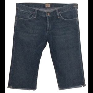 Goldsign Pants - Goldsign denim Bermuda Jean shorts