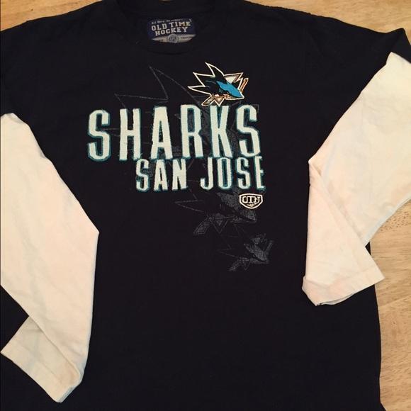 promo code 78bb4 b7c3d Bundle SJ Sharks Hockey long sleeve t shirts