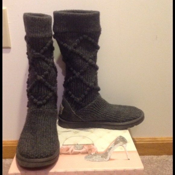 38 off ugg shoes ugg classic argyle sweater boot from. Black Bedroom Furniture Sets. Home Design Ideas