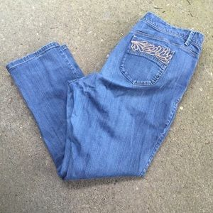 💚Old Navy low waisted jeans size 20