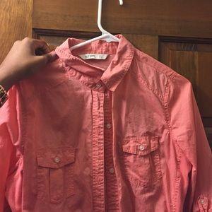 Tops - Salmon Shirt