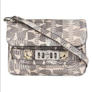 Proenza Schouler PS11 Mini Ayers Snakeskin Bag