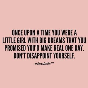 Other - Big Girl Dreams