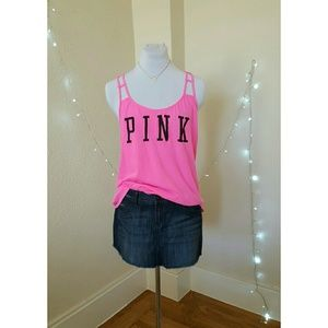 PINK by VS Neon Tank