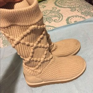 UGG Shoes - Ugg Classic Argyle Knit Boots