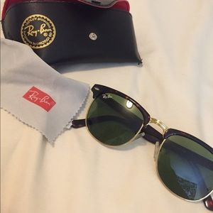 **SOLD** Ray-ban Clubmaster Sunglasses