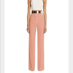Aq/aq Pants - AQ/AQ Laurent high waisted trouser pant pink nude