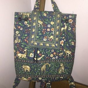 💙PRELOVED VERA BRADLEY PURSE/BACKPACK💚