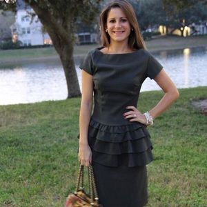 Moon River peplum dress
