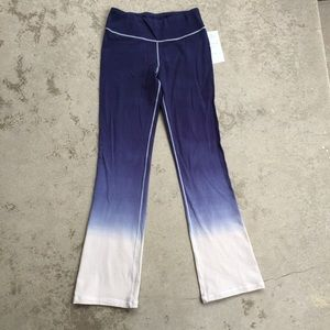 Pants - Hip Dip-Dye Yoga Pants NWT