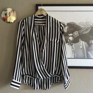 Zara - Stripe Top Size Medium