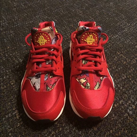 Women's Red Aloha Huaraches