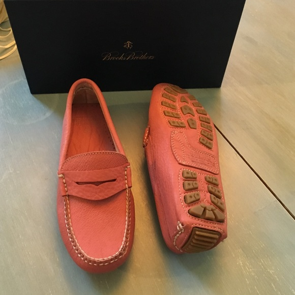 Brooks Brothers Shoes | Pink Driving