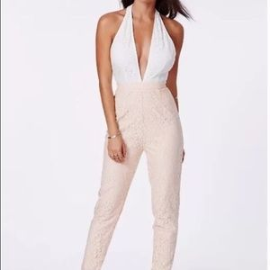 Missguided jumpsuit size 4 New with Tags!