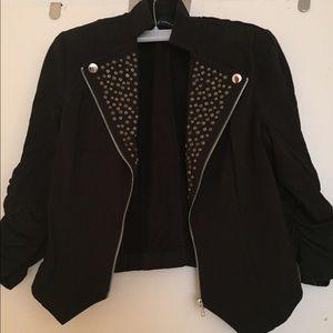 Inc cropped blazer