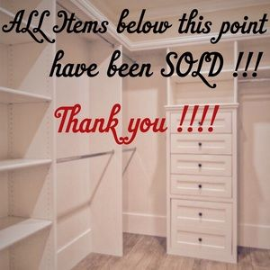 Thank you for shopping with me !