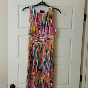 Just Taylor New with Tags Multicolor Dress