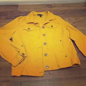 Jackets & Blazers - Sunshine yellow spring jacket