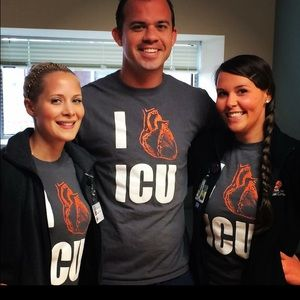 ICU t-shirt perfect for nurses week!