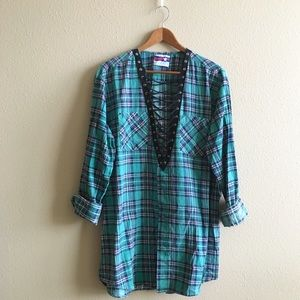 LF Tops - Green River Flannel