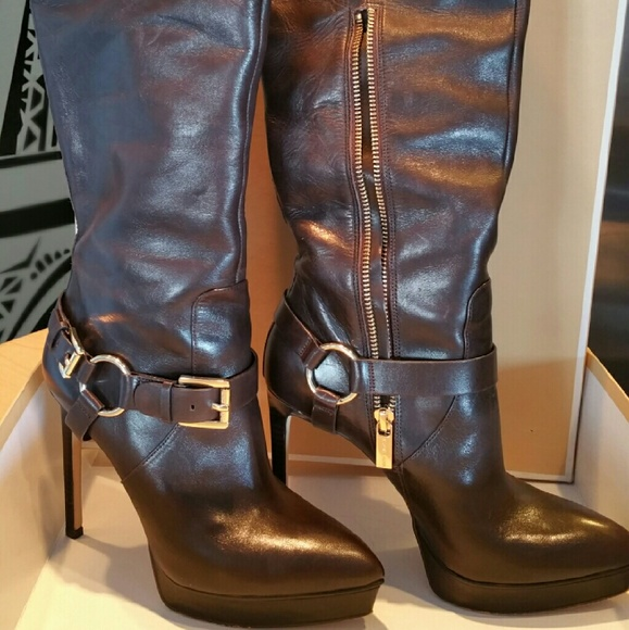 MICHAEL Michael Kors Shoes - Leather Boots / Harrison Boot