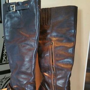 MICHAEL Michael Kors Shoes - Leather Boots / Harrison Boot