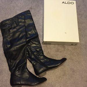ALDO Shoes - Aldo knee high black boots