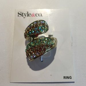 Style & Co Jewelry - Multi colored ring