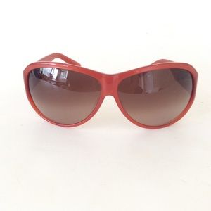 Fendi FS472M Sunglasses Rusted Red