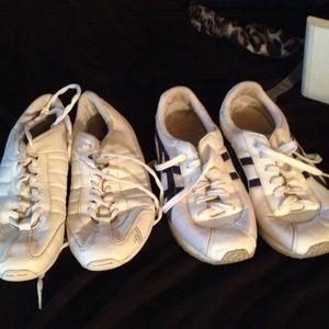 Shoes - Cheershoes$35apeace verywellkeptthey cost75 apiece